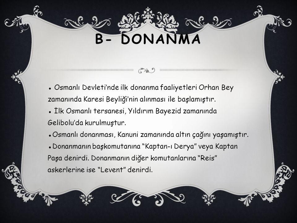 B- Donanma