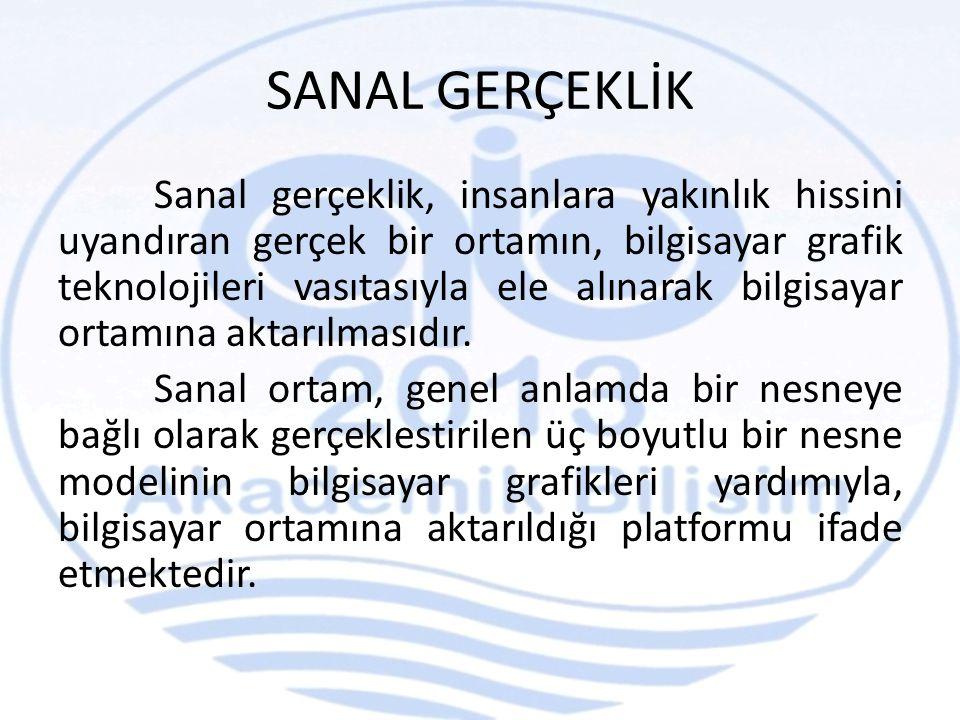 SANAL GERÇEKLİK