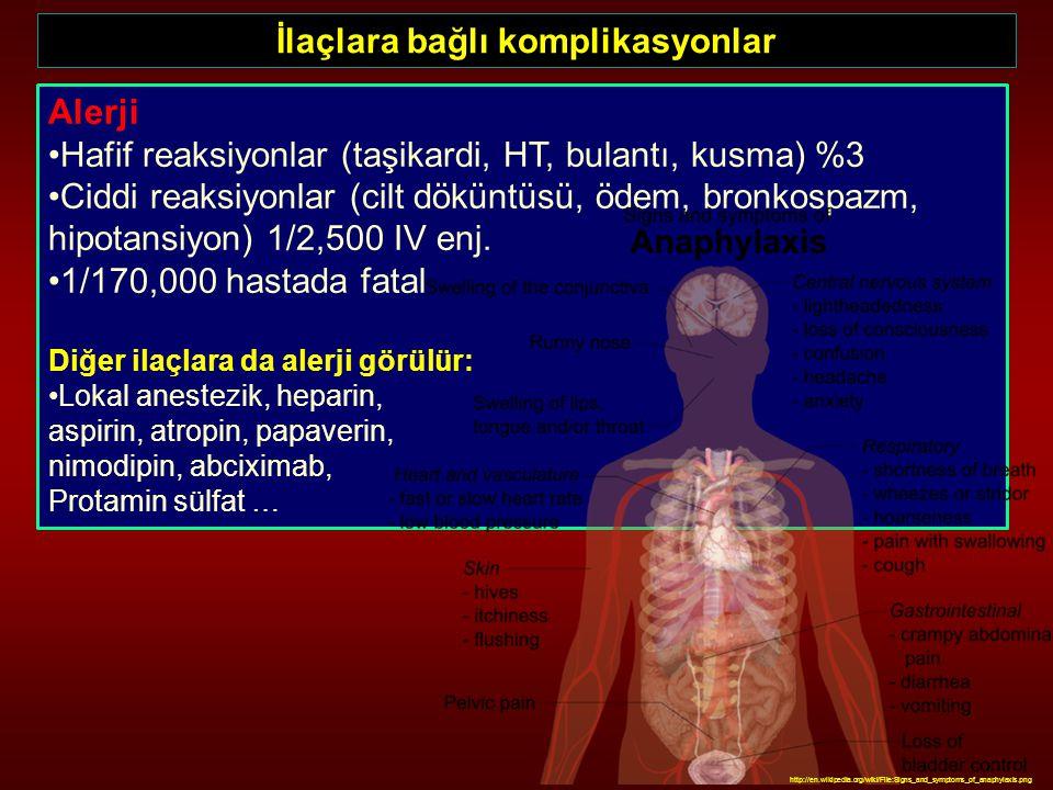 İlaçlara bağlı komplikasyonlar