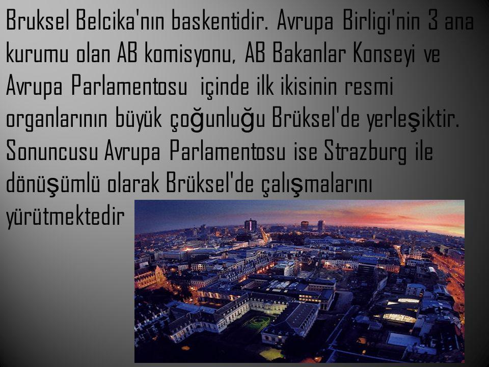 Bruksel Belcika nın baskentidir
