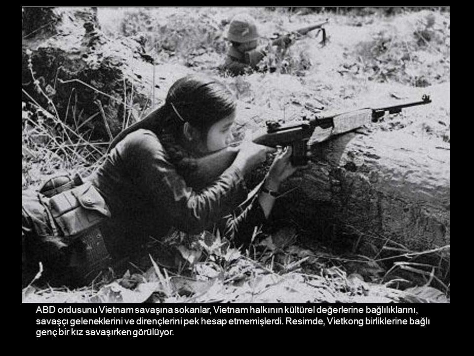 ABD ordusunu Vietnam savaşına sokanlar, Vietnam halkının kültürel değerlerine bağlılıklarını,