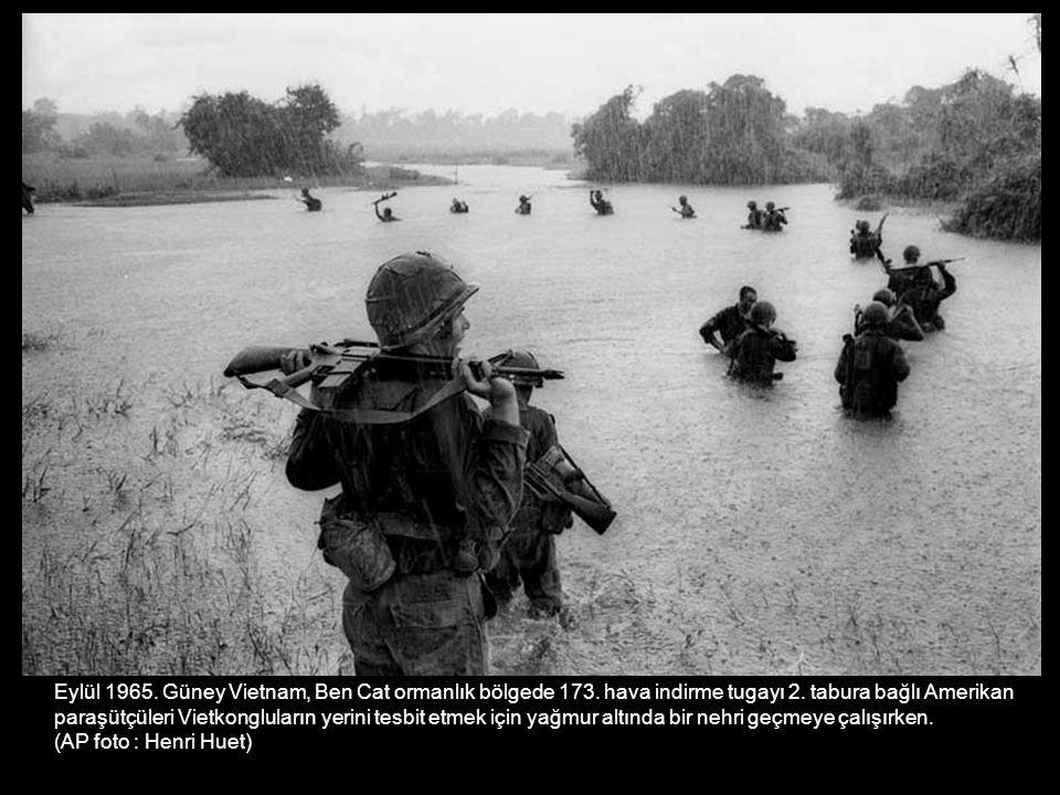 Eylül 1965. Güney Vietnam, Ben Cat ormanlık bölgede 173