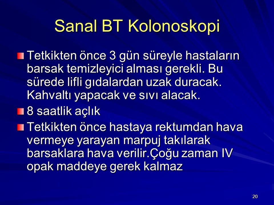 Sanal BT Kolonoskopi