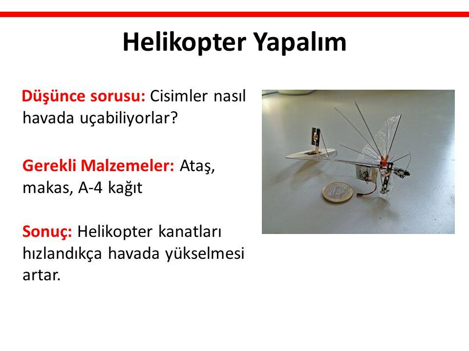 Helikopter Yapalım