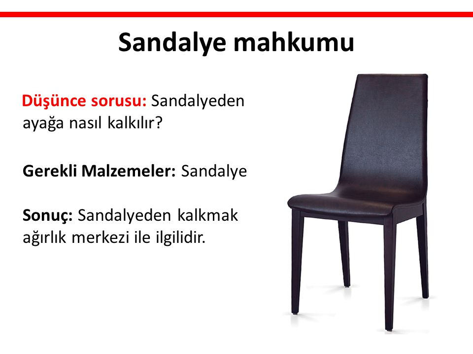 Sandalye mahkumu