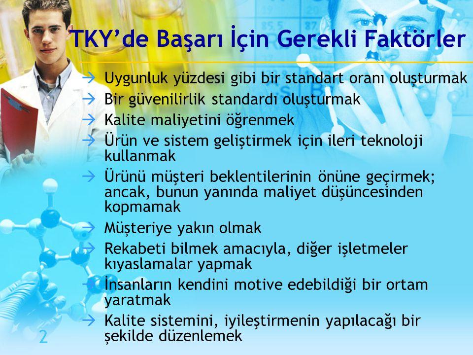 TKY'de Başarı İçin Gerekli Faktörler