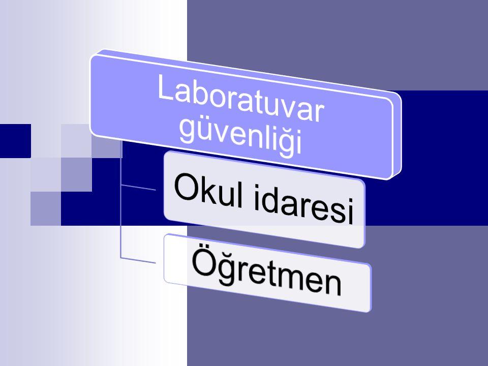 Laboratuvar güvenliği
