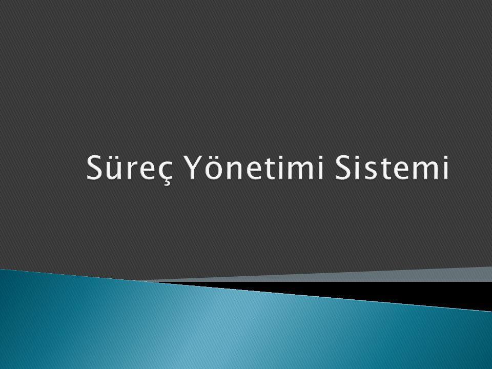 Süreç Yönetimi Sistemi