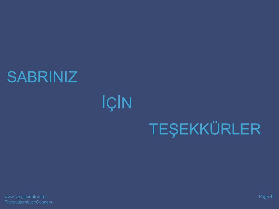 SABRINIZ İÇİN TEŞEKKÜRLER www.vergiportali.com/