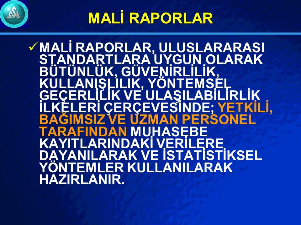 MALİ RAPORLAR