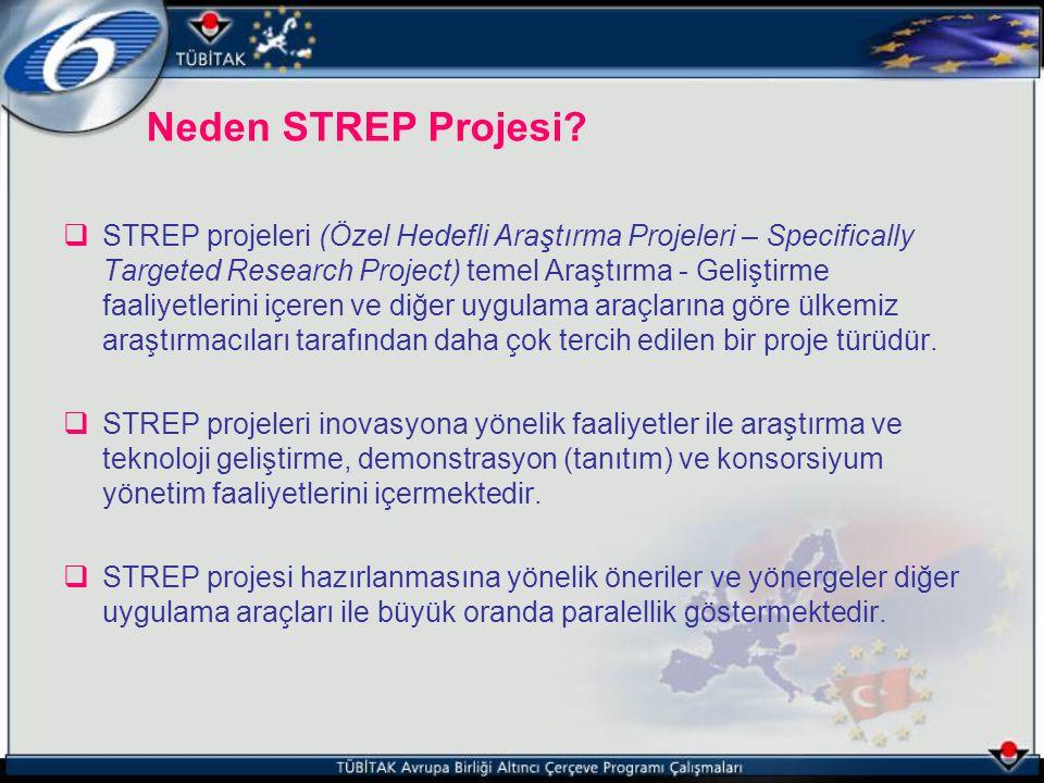 Neden STREP Projesi
