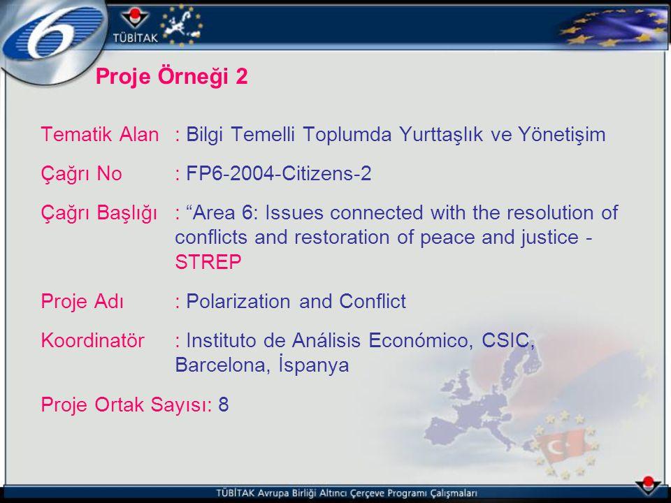 Tematik Alan : Bilgi Temelli Toplumda Yurttaşlık ve Yönetişim