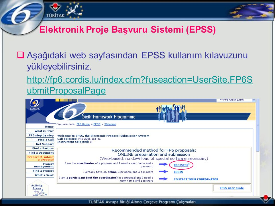 Elektronik Proje Başvuru Sistemi (EPSS)