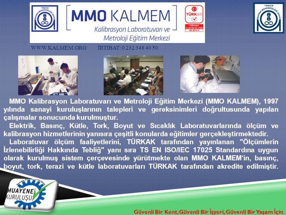 www.kalmem.org İrtibat: 0 232 348 40 50
