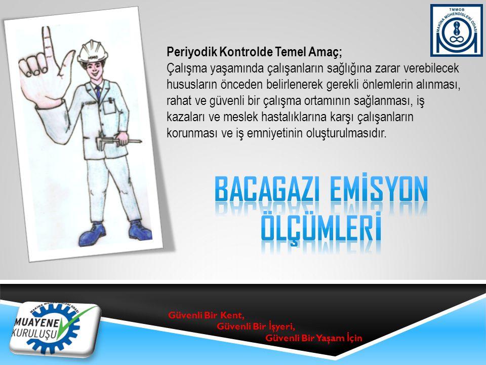 BACAGAZI EMİSYON ÖLÇÜMLERİ