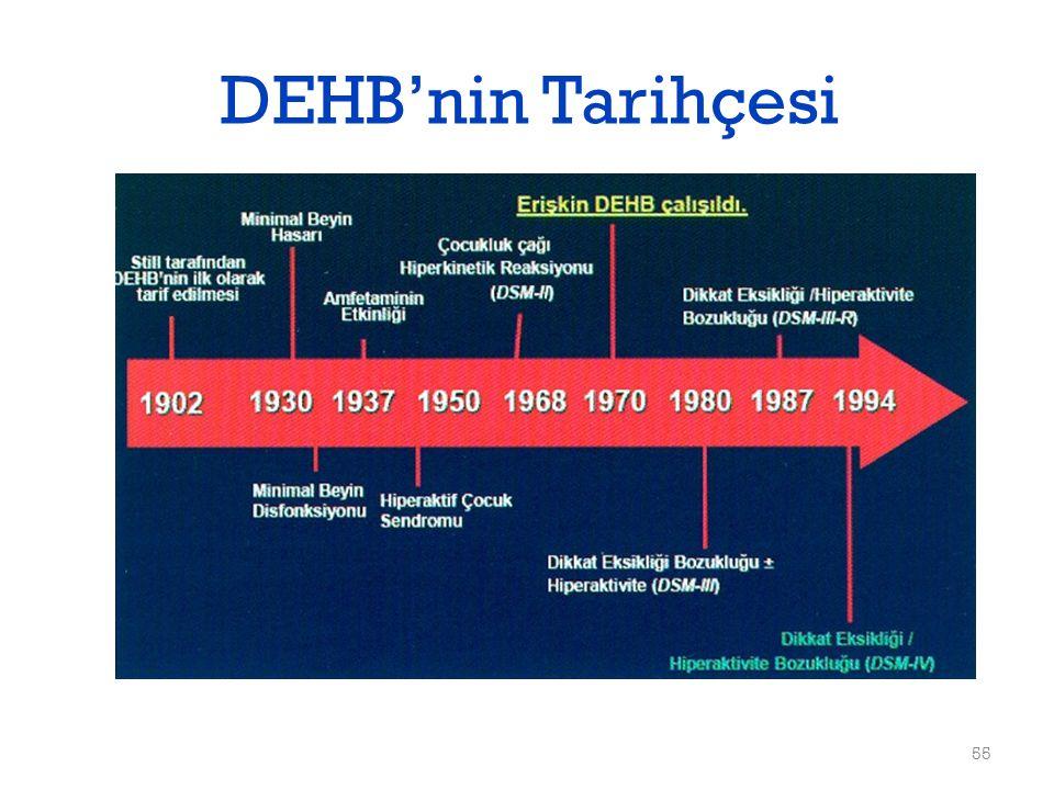 DEHB'nin Tarihçesi