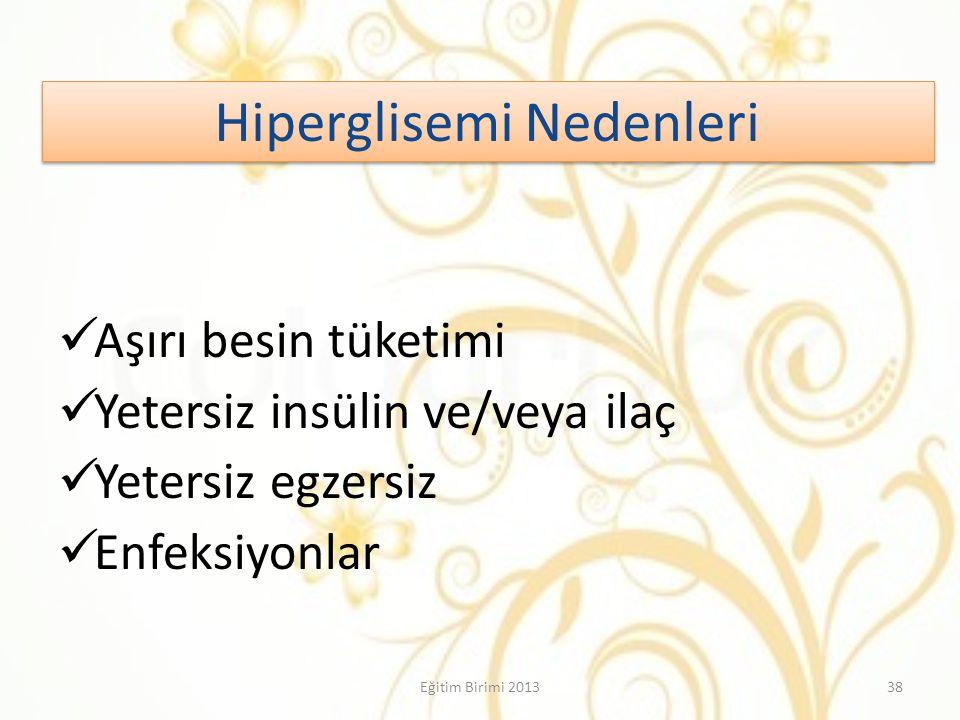 Hiperglisemi Nedenleri
