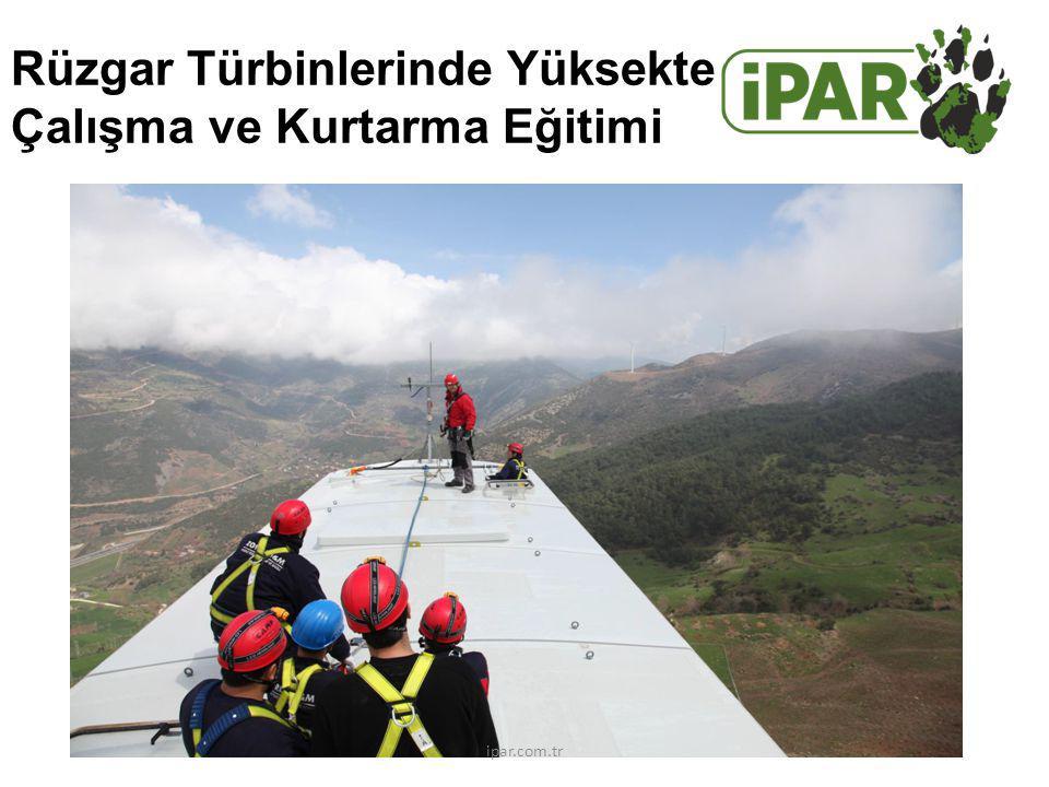Rüzgar Türbinlerinde Yüksekte Çalışma ve Kurtarma Eğitimi