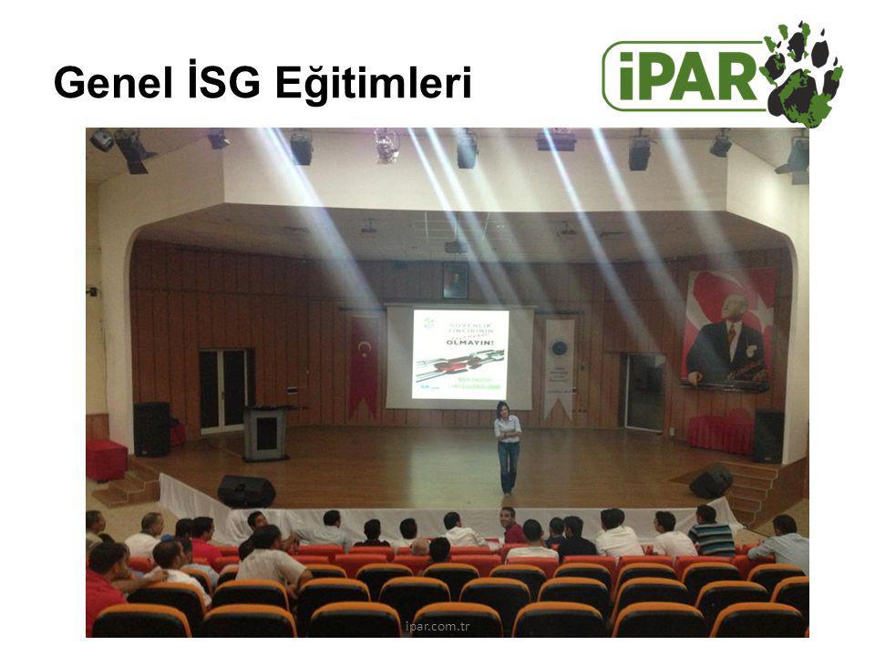 Genel İSG Eğitimleri ipar.com.tr
