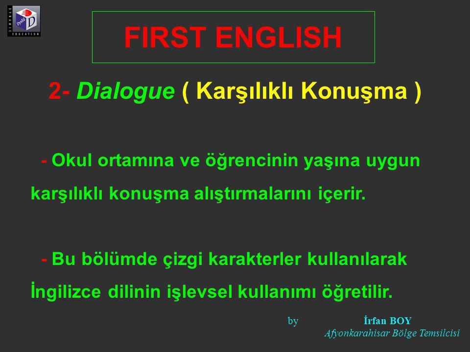 2- Dialogue ( Karşılıklı Konuşma )
