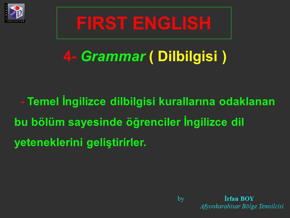 4- Grammar ( Dilbilgisi )