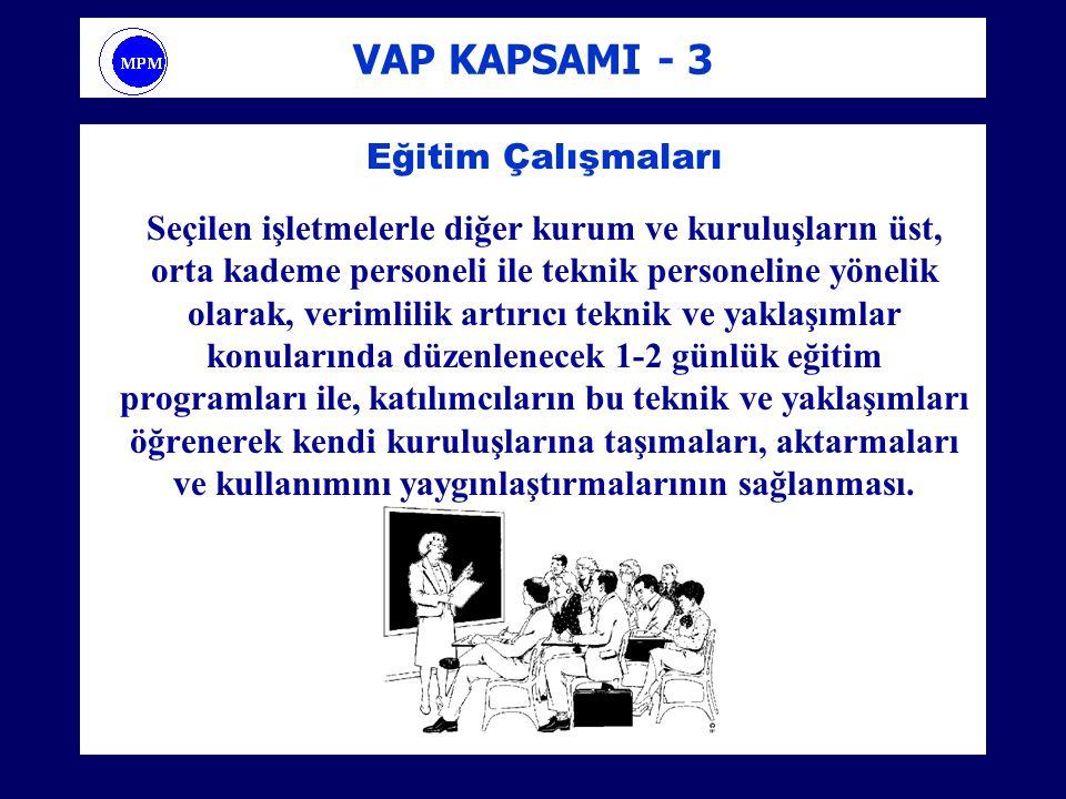 VAP KAPSAMI - 3 Eğitim Çalışmaları
