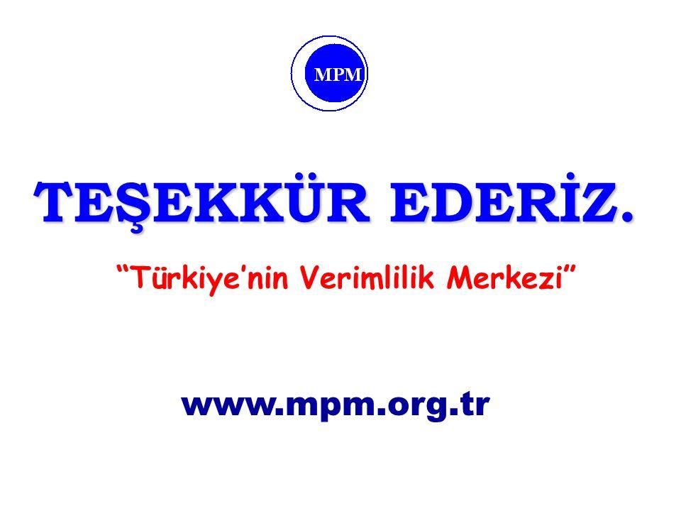 Türkiye'nin Verimlilik Merkezi
