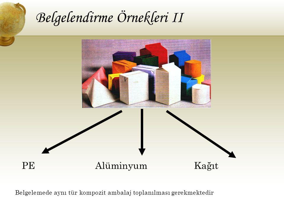 Belgelendirme Örnekleri II