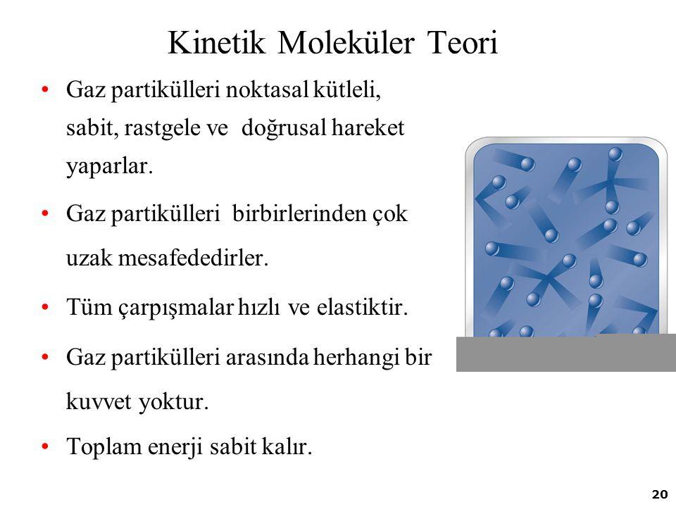 Kinetik Moleküler Teori