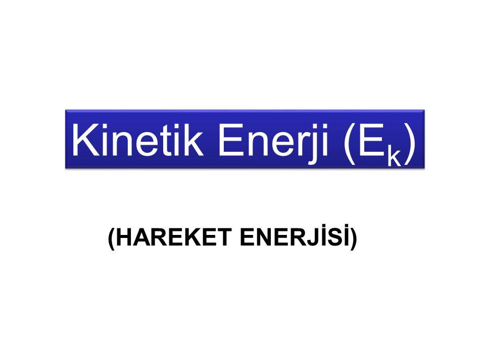 Kinetik Enerji (Ek) (HAREKET ENERJİSİ)