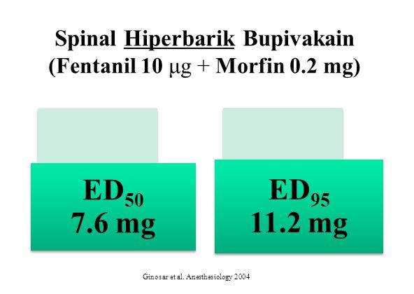 Spinal Hiperbarik Bupivakain (Fentanil 10 μg + Morfin 0.2 mg)