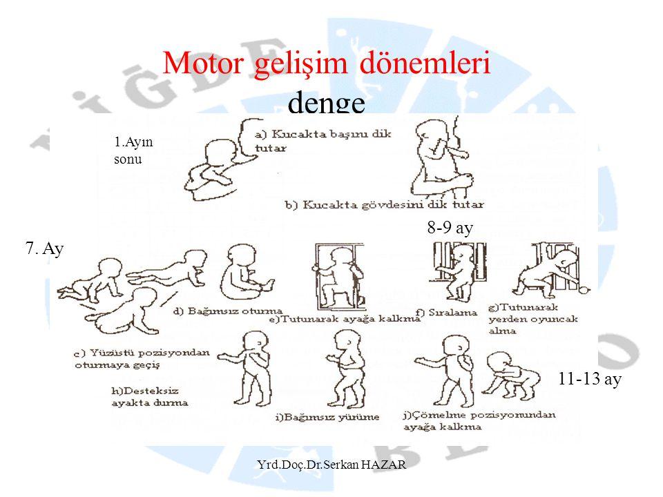 Motor gelişim dönemleri denge