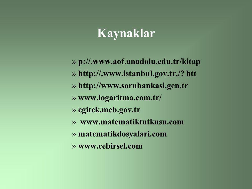 Kaynaklar p://.www.aof.anadolu.edu.tr/kitap