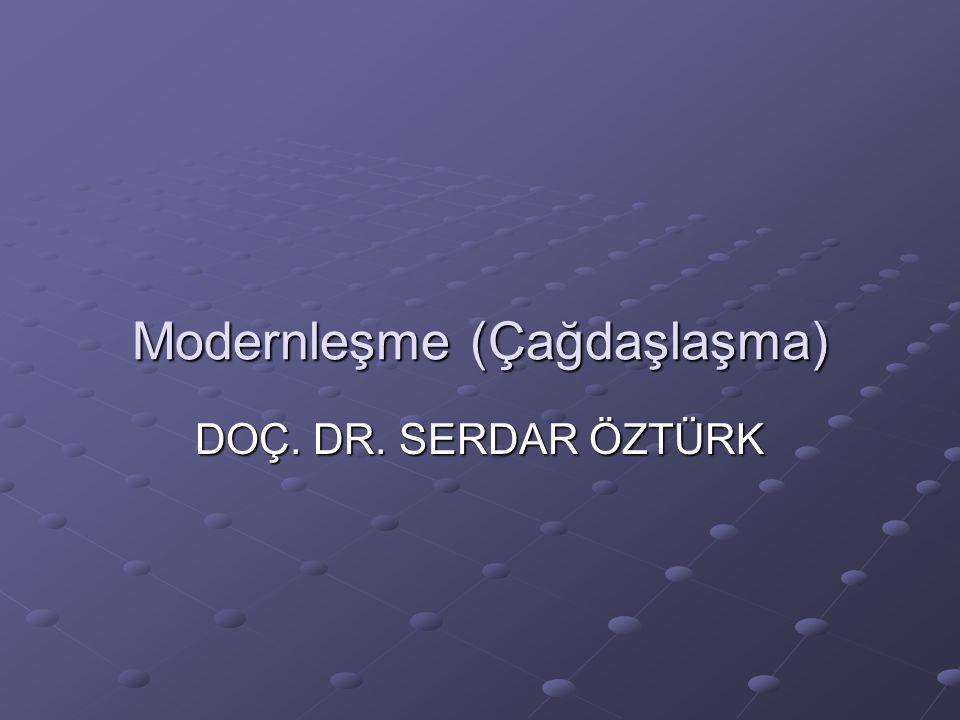 Modernleşme (Çağdaşlaşma)