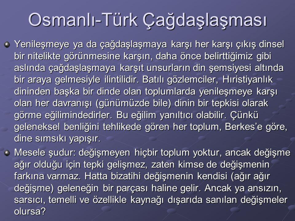 Osmanlı-Türk Çağdaşlaşması