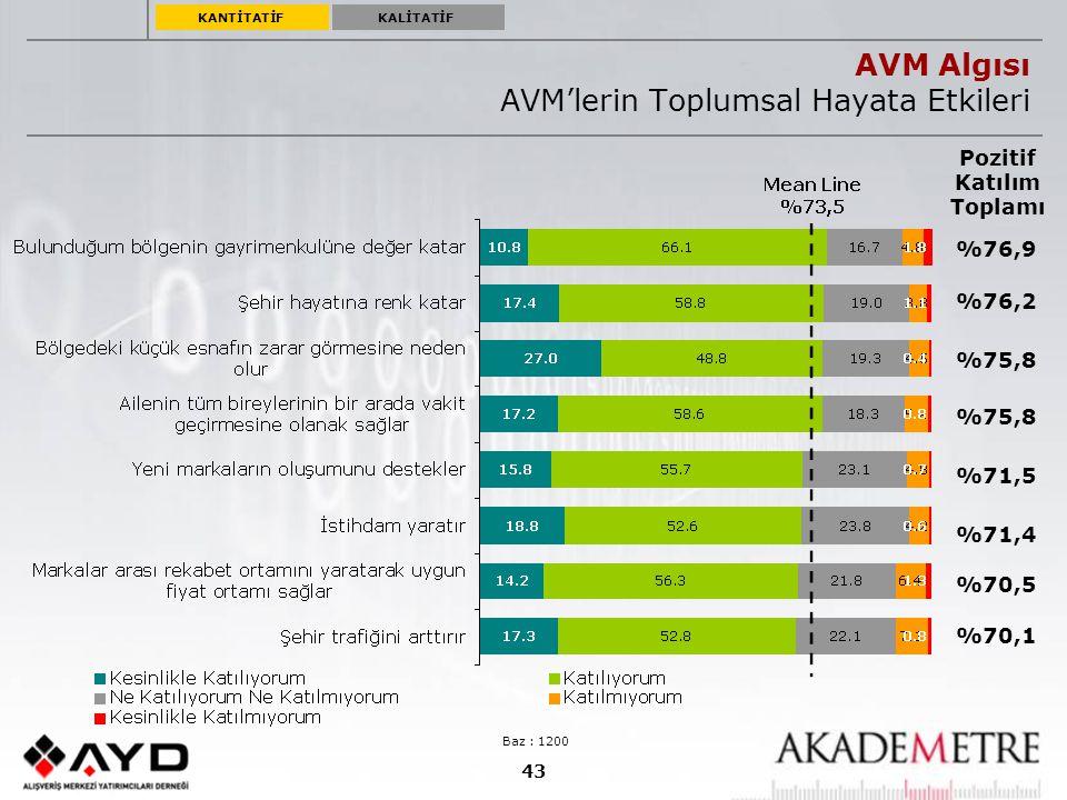 AVM Genel Konsept Sorgulaması