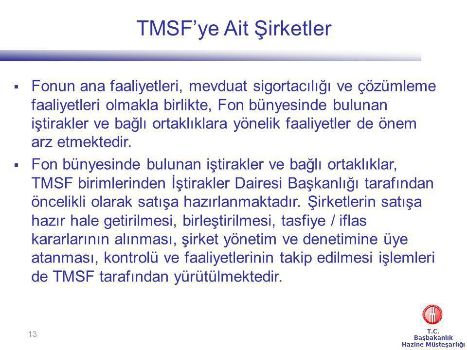 TMSF'ye Ait Şirketler