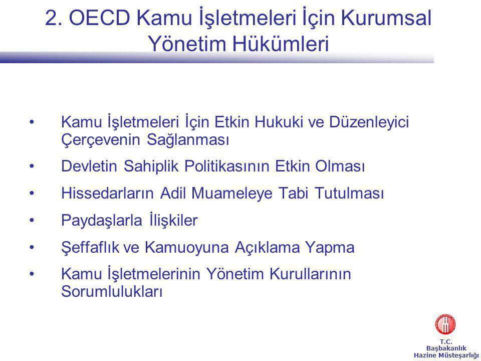 2. OECD Kamu İşletmeleri İçin Kurumsal Yönetim Hükümleri
