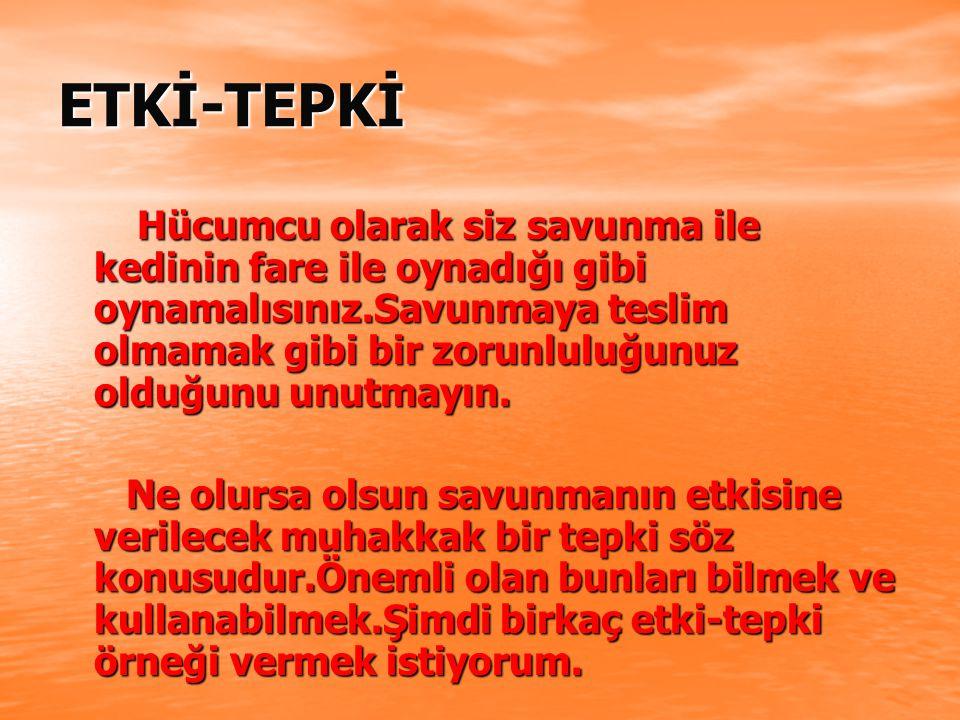 ETKİ-TEPKİ