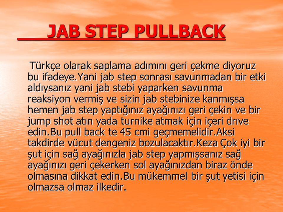 JAB STEP PULLBACK