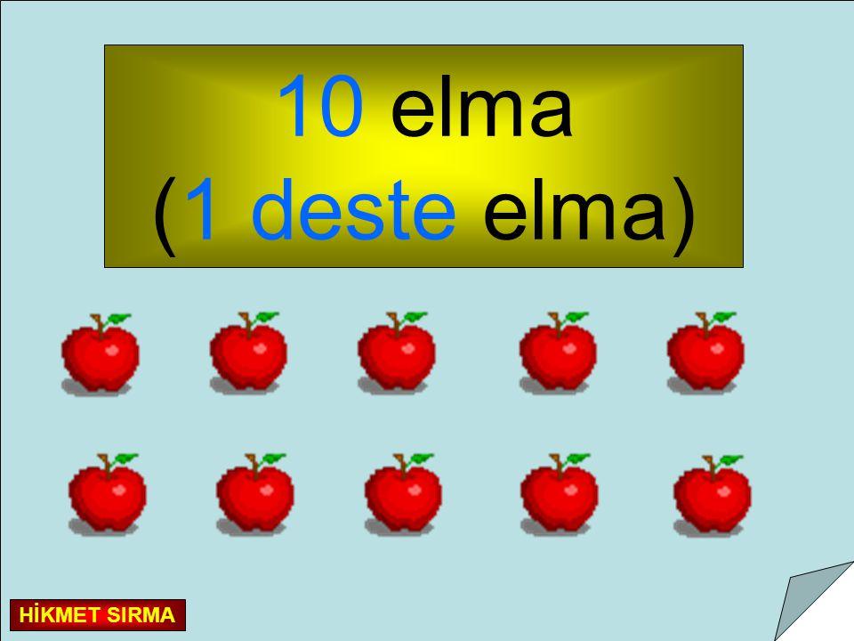 10 elma (1 deste elma) HİKMET SIRMA