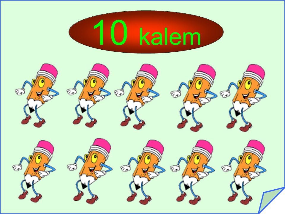 10 kalem
