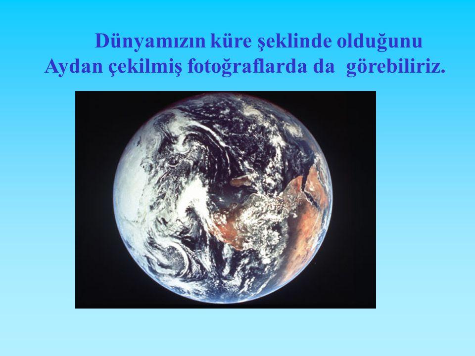 Dünyamızın küre şeklinde olduğunu