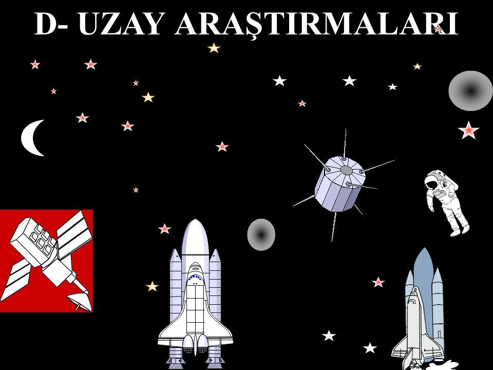 D- UZAY ARAŞTIRMALARI