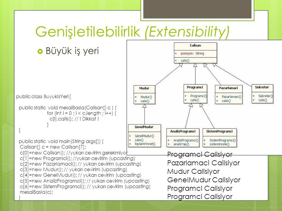 Genişletilebilirlik (Extensibility)