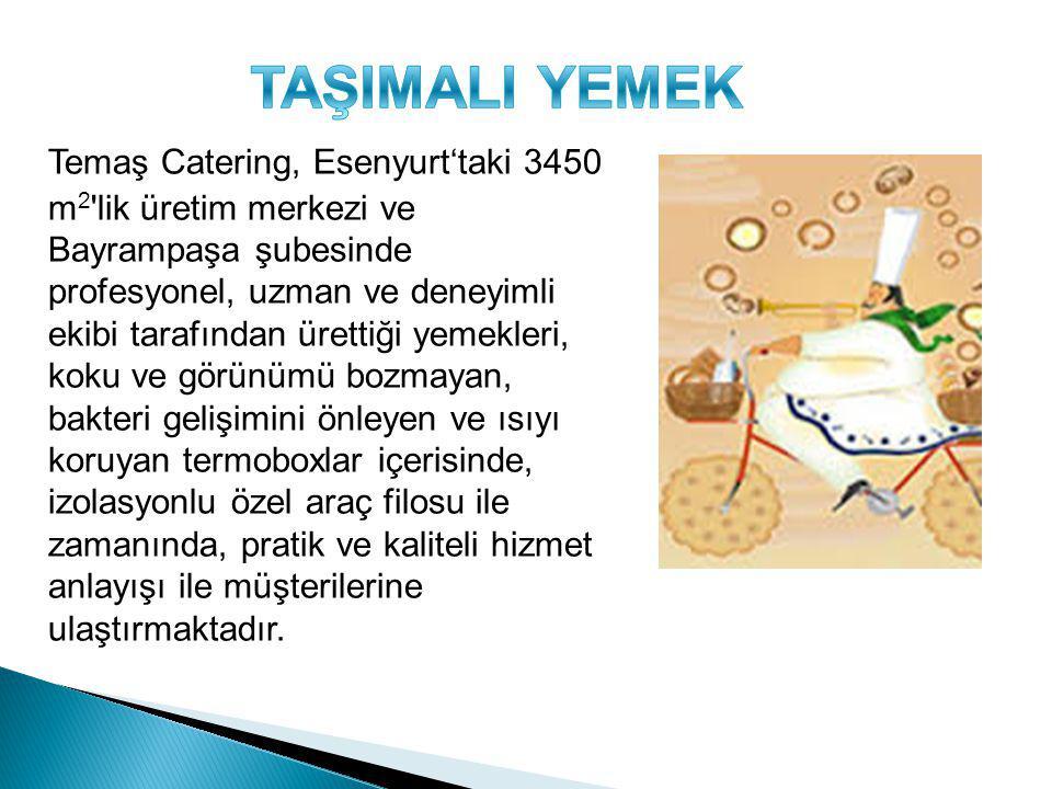 TAŞIMALI YEMEK
