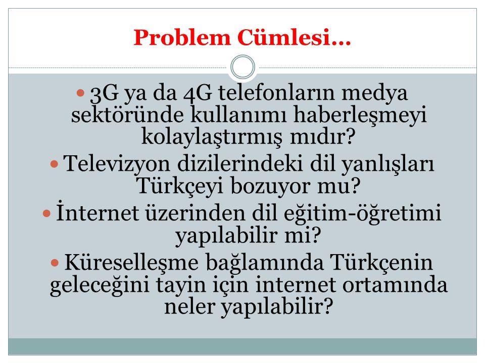 Televizyon dizilerindeki dil yanlışları Türkçeyi bozuyor mu