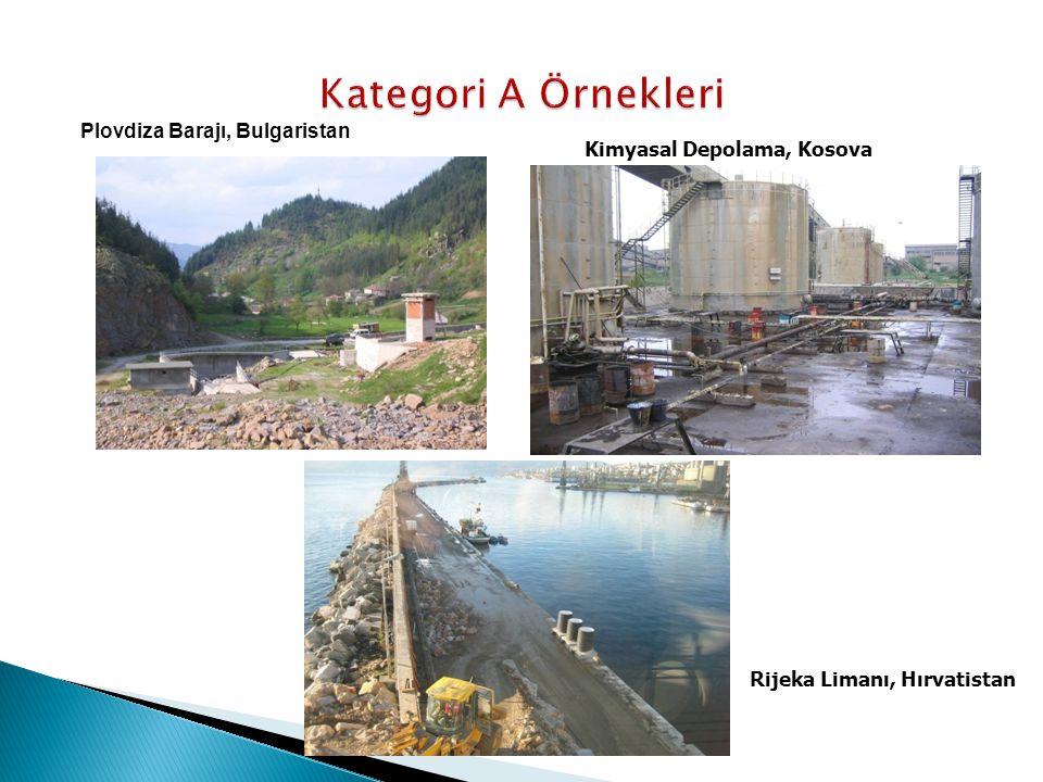 Kategori A Örnekleri Plovdiza Barajı, Bulgaristan