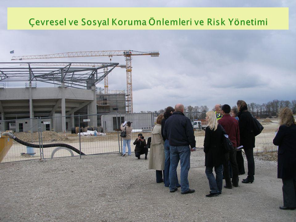 Çevresel ve Sosyal Koruma Önlemleri ve Risk Yönetimi