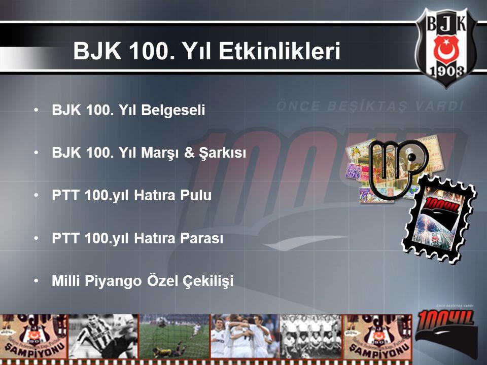 BJK 100. Yıl Etkinlikleri BJK 100. Yıl Belgeseli